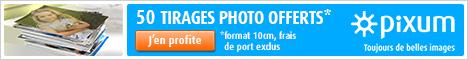 50 tirages photo gratuites ! Cliquez ici !