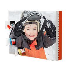 Schoko adventskalender mit produkten von kinder bei - Pixum adventskalender ...