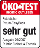 Öko-Test Fotobuch: Sehr gut