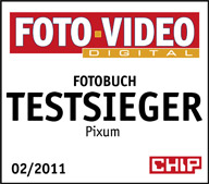 CHIP FOTO-VIDEO Fotobuch Test: Testsieger 84 Punkte