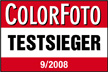 Colorfoto Foto Test: Testsieger