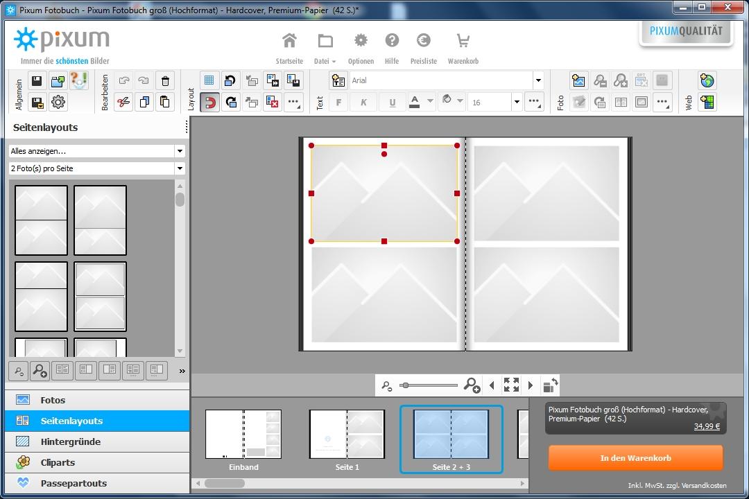 was bietet mir die neue pixum fotobuch software pixum hilfe. Black Bedroom Furniture Sets. Home Design Ideas