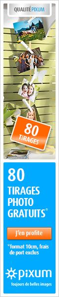 80 tirages photo gratuits 120x600