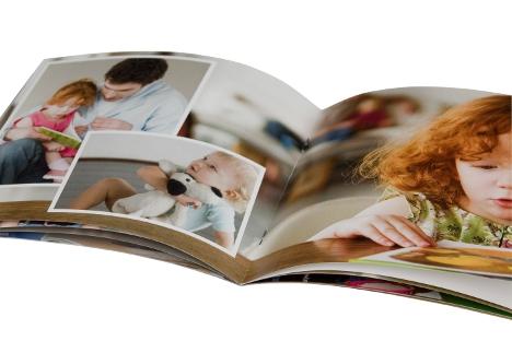 6088 Pixum Fotoboek klein (panorama) schrift beste prijs