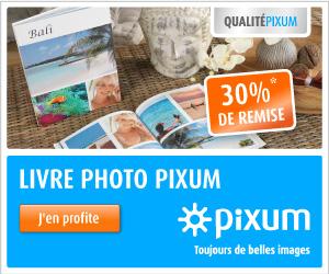 30% sur livres photo