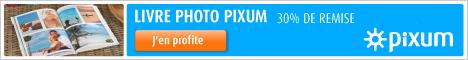 30% de remise sur votre livre photo avec Pixum ! Commandez ici !